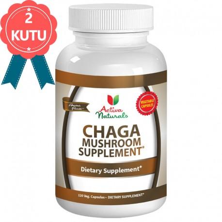 2 Kutu Chaga Mushroom Kapsül (Chaga Mantarı)