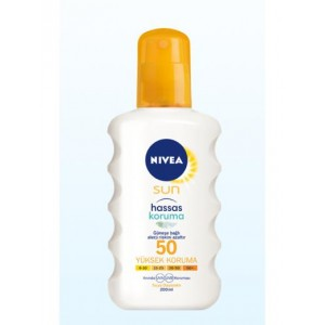 NIVEA SUN KORUMA HASSAS SPREY SPF50 200ML